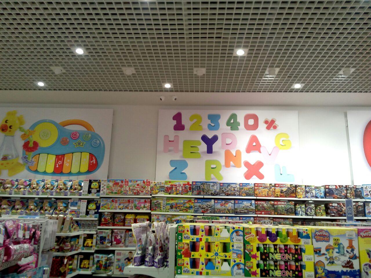 магазин детских игрушек смик монтаж видеонаблюдения фото